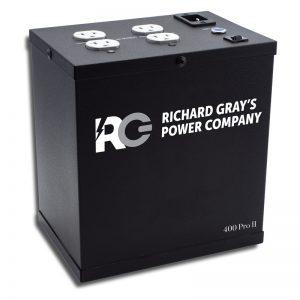 RGPC, RGPC 400 Pro II, Suministro de energía